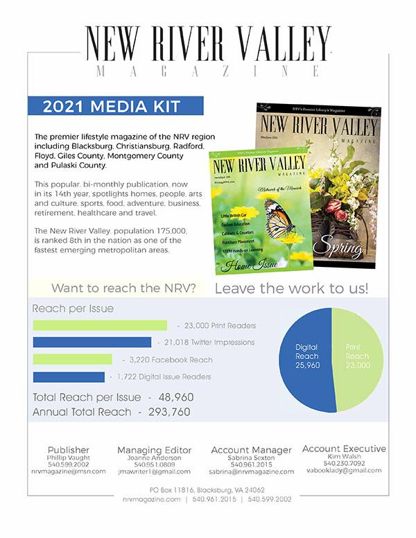 NRV Magazine Media Kit 2021 image