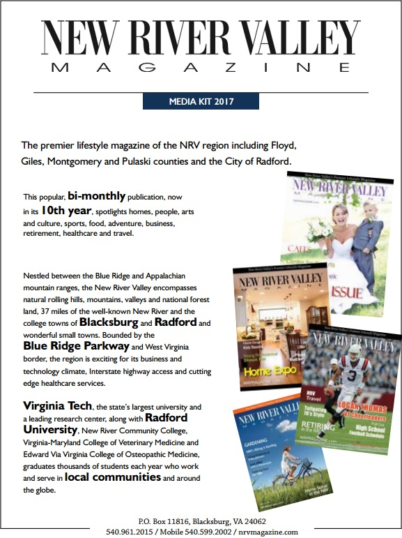 NRV Magazine Media Kit
