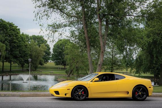 Fly Yellow Ferrari . . . beauty, class and power