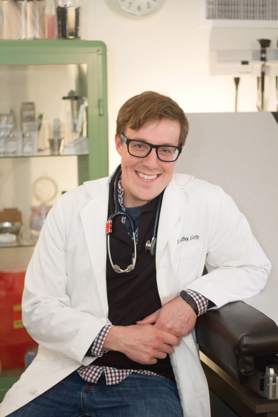 The Entrepreneurial Doctor Is In . . . a new business model in healthcare