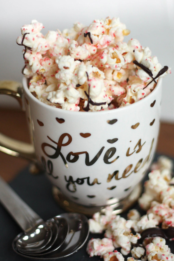 Festive Candied Popcorn
