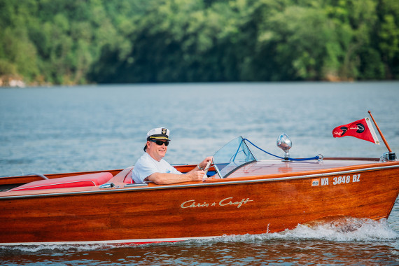 The Virginian . . A Classic Speedboat