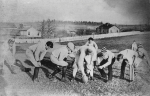 Football squad 1893 Sheib field