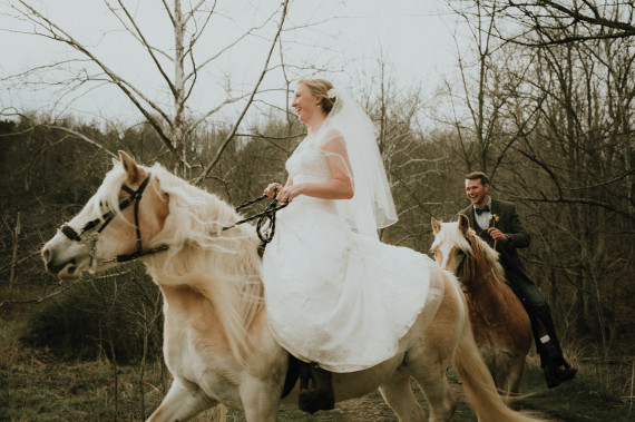 Horses and Weddings  and Planning from Afar