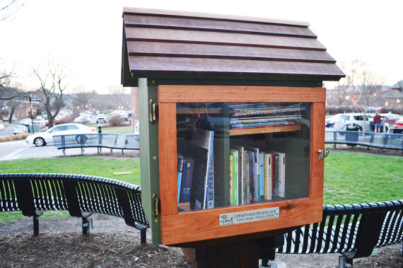 Handmade Gateways to Magic . . . Little Free Library's story sharing mission