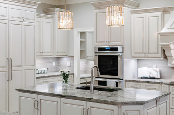 Center Stage In The Kitchen Cabinets And Counters Nrvmagazine Com