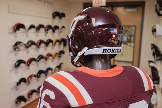 How Virginia Tech revolutionized helmet construction for concussion prevention