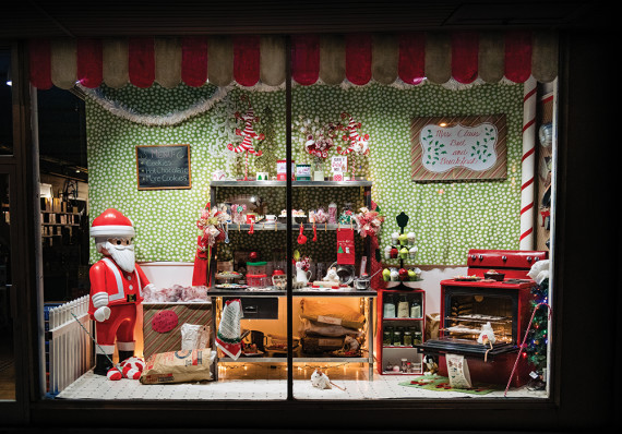 Tear Open the Shutters . . . Imaginations holiday window sets stage for the season
