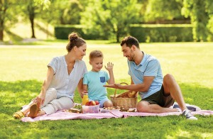 family picnic tiff