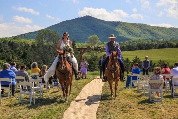 The Wedding Trail Ride