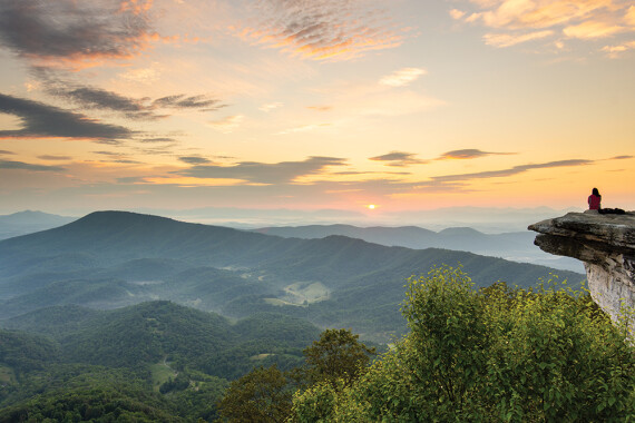 Exploring Virginia's section of the Appalachian Trail