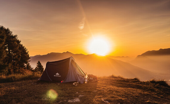 All the Comforts of Camping